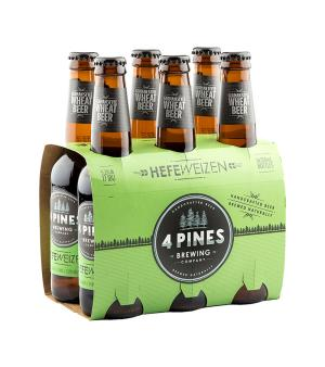 4 Pines Hefeweizen Stubbies 6pk