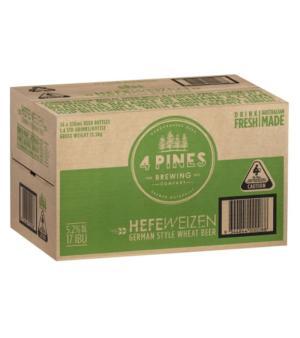 4 Pines Hefeweizen Stubbies Case 24