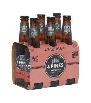 4 Pines Pale Ale Stubbies 6pk