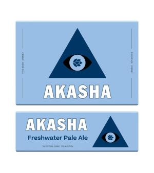 Akasha Freshwater Pale Ale Can Case 24