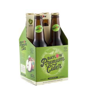 Batlow Premium Apple Cider Stubbies 4pk