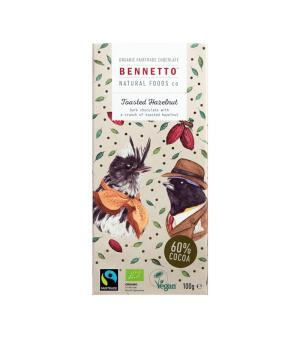 Bennetto Hazelnut Dark Chocolate