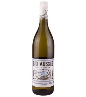 Big Aussie Wine Co Great White 1L