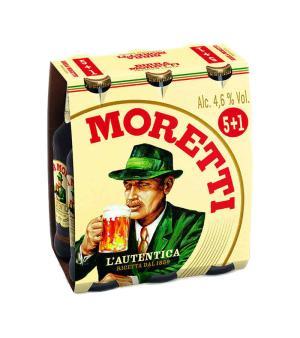 Birra Moretti Stubbies 6pk