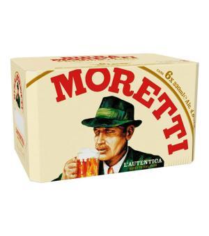 Birra Moretti Stubbies Case 24
