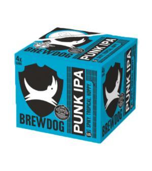 Brewdog Punk IPA Can 4pk