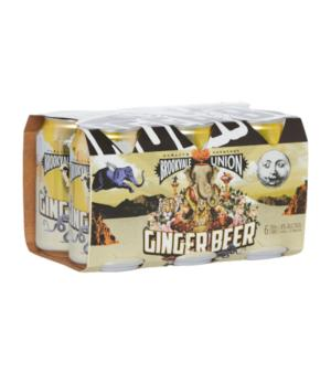 Brookvale Union Ginger Beer Can 6pk