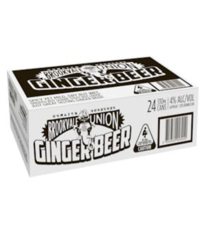 Brookvale Union Ginger Beer Case 24