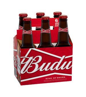 Budweiser Stubbies 6pk