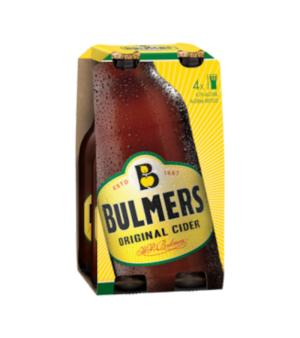 Bulmers Original Cider Stubbies 4pk