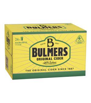 Bulmers Original Cider Stubbies Case 24