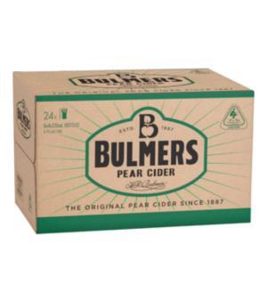 Bulmers Pear Cider Stubbies Case 24
