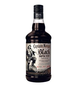 Captain Morgan Black Spiced Rum 700ml