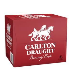 Carlton Draft Longneck Case 12