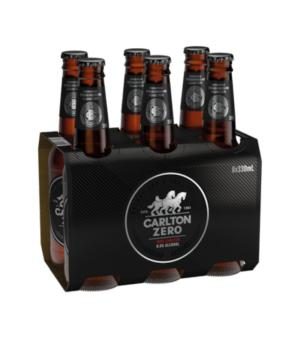 Carlton Zero Stubbies 6pk