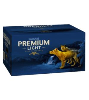 Cascade Premium Light Stubbies Case 24