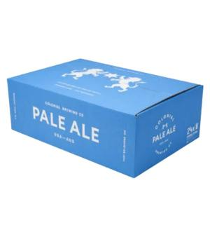 Colonial Brewing Co Pale Ale Can Case 24