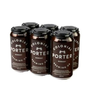 Colonial Brewing Co Porter Can 6pk