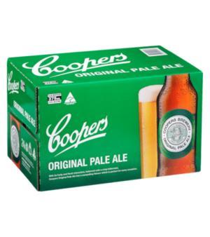 Coopers Pale Stubbies Case 24
