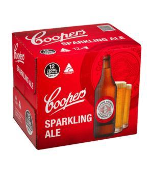 Coopers Sparkling Longneck Case 12
