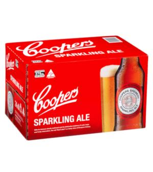 Coopers Sparkling Stubbies Case 24