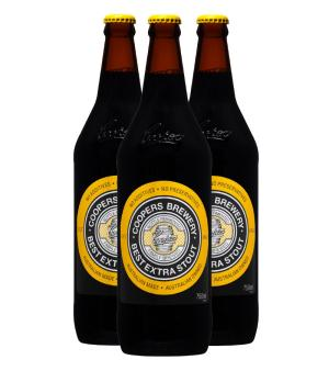Coopers Stout Longneck 3pk