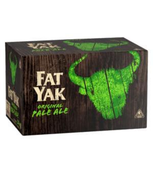 Fat Yak Pale Ale Stubbies Case 24