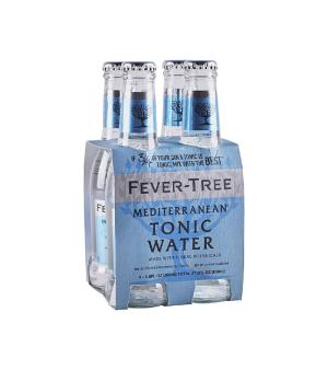 Fever Tree Mediterranean Tonic Water 200ml 4pk