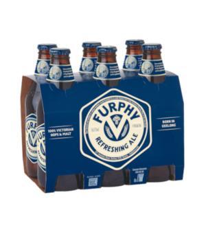 Furphy Refreshing Ale Stubbies 6pk