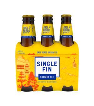 Gage Roads Single Fin Summer Ale Stubbies 6pk