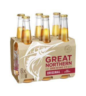 Great Northern Original Lager Stubbies 6pk