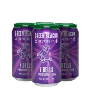 Green Beacon 7 Bells Passionfruit Can 4pk