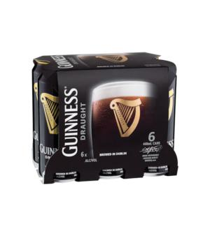 Guinness Cans 440ml 6pk