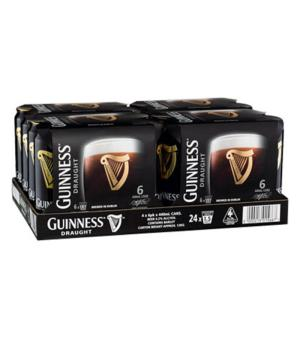 Guinness Cans 440ml Case 24