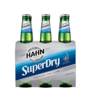 Hahn SuperDry Stubbies 6pk