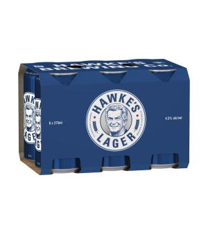 Hawkes Lager Can 6pk