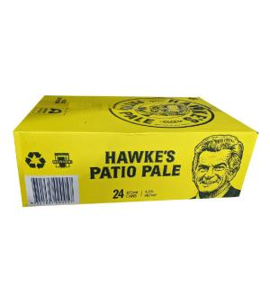 Hawkes Patio Pale Ale Can Case 24