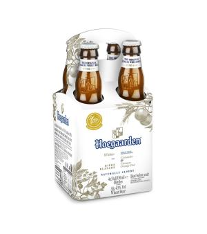 Hoegaarden White Stubbies 4pk
