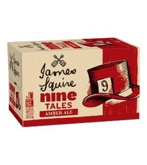 James Squire Nine Tales Amber Ale Case 24