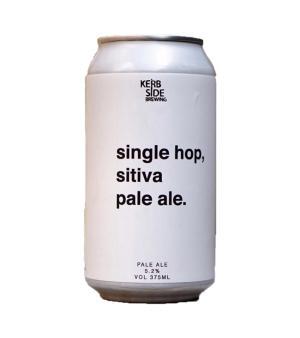 Kerbside Brewing Single Hop Sitiva Pale Ale Cans 4pk