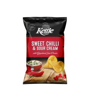 Kettle Sweet Chilli & Sour Cream Chips 90g
