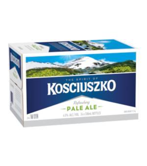 Kosciuszko Pale Ale Stubbies Case 24