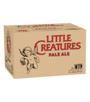 Little Creatures Pale Ale Stubbies Case 24