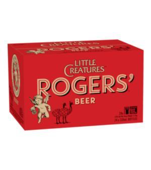 Little Creatures Rogers Amber Ale Stubbies Case 24