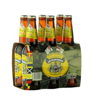 Lord Nelson Three Sheets Pale Ale Stubbies Case 24
