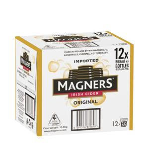 Magners Original Cider Bottles 568ml Case 12