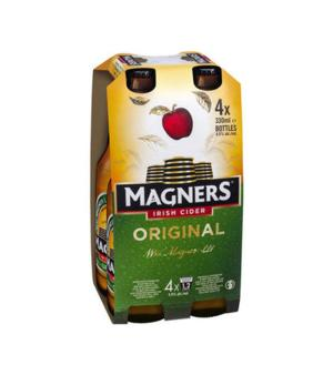 Magners Original Cider Stubbies 4pk