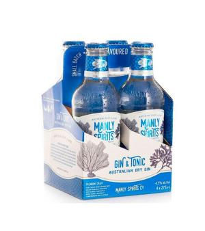 Manly Spirits Gin and Tonic 4pk