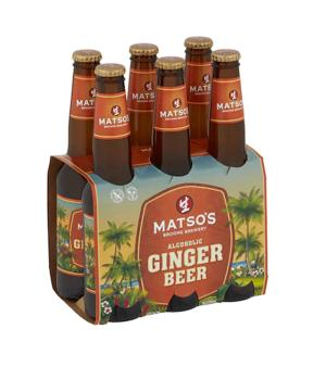 Matso's Ginger Beer Stubbies 6pk