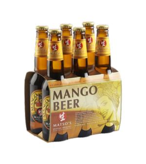 Matso's Mango Beer Stubbies 6pk